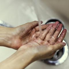 Good hand washing is one of the most effective ways to help prevent the spread of deadly bacteria. Credit: rawpixel/unsplash.