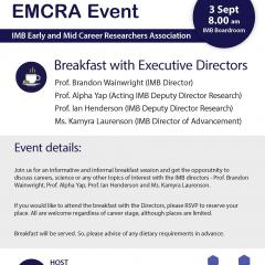 EMCRA Event - Breakfast with Executive Directors 3rd September