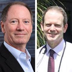 Professor Brandon Wainwright and Doctor Tim Hassall