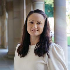 Dr Alysha Elliott at the University of Queensland