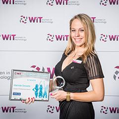 Mathilde Desselle wins Women in Technology Award