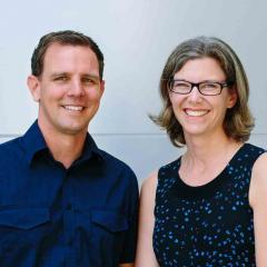Dr Johan Rosegren and Dr Christina Schroder