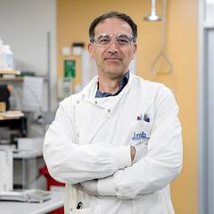 Dr Mark Blaskovich is investigating the use of cannabidiol as a potential new antibiotic.
