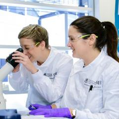 Associate Professor Kate Schroder and Dr Rebecca Coll.