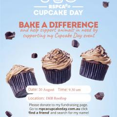 RSPCA Cupcake day at IMB