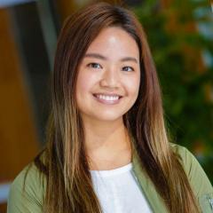 PhD student Amy Chan